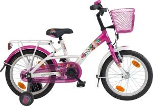 My bike wasn't nearly as fancy. It wasn't pink either.