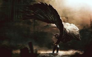 6930245-fallen-angel